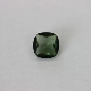 Синтетичен шпинел, 8 х 8 мм, цвят зелен турмалин