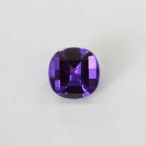 Синтетичен камък, 10.00 мм, цвят аметист