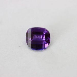 Синтетичен камък , 9.00 мм, цвят аметист