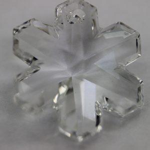 Кристален камък, форма снежинка, 30 мм
