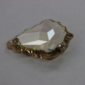 Кристален камък, форма фенси, 16.00 мм, цвят шампанско