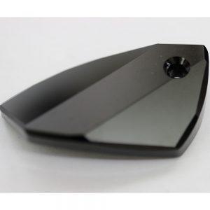 Кристален камък, форма фенси, 40.00  мм, цвят черен