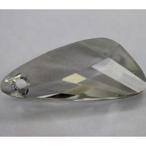 Кристален камък, форма фенси, 39.00  мм, цвят сив