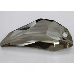 Кристален камък, форма фенси, 50.00  мм, цвят кафе