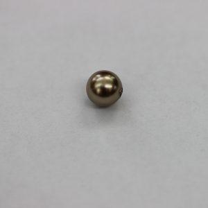 Перла, 6.00 мм, тъмно сив