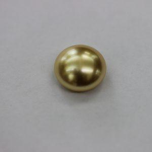 Перла,кабошон 12.00 мм, златисто жълта