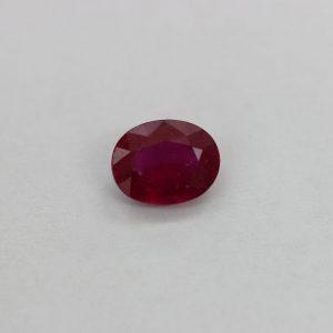 Природен рубин , форма кръг, размери от 1.50 мм - 6.00 мм