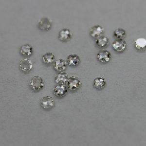 Черен диамант , форма кръг 5.00 - 7.00 мм