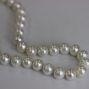 Гердан, бяла перла, 7.00 мм